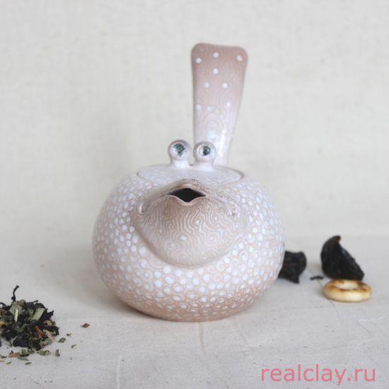 Чайник керамический для заварки