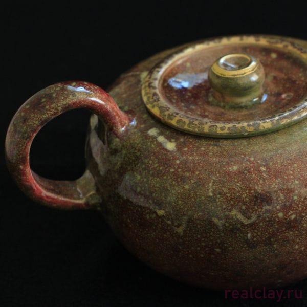Керамический заварочный чайник ручной работы