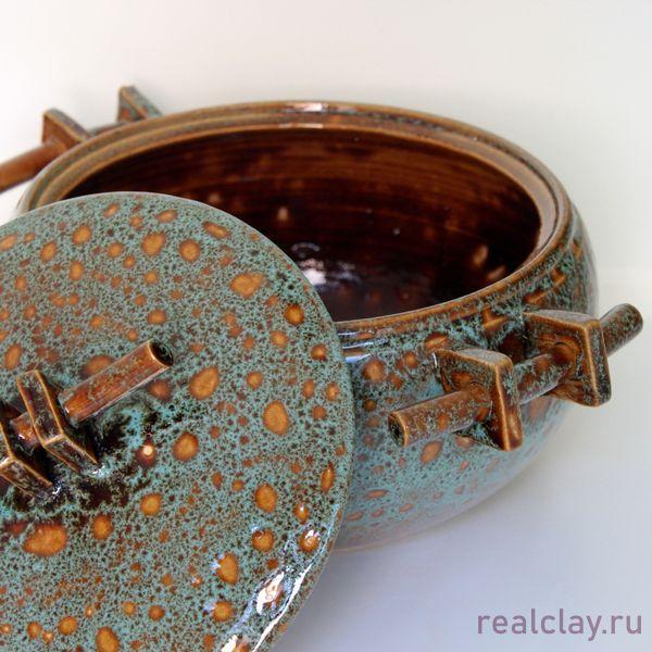 Кастрюля керамическая ручной работы