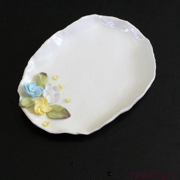 Керамическая тарелочка для мелочей