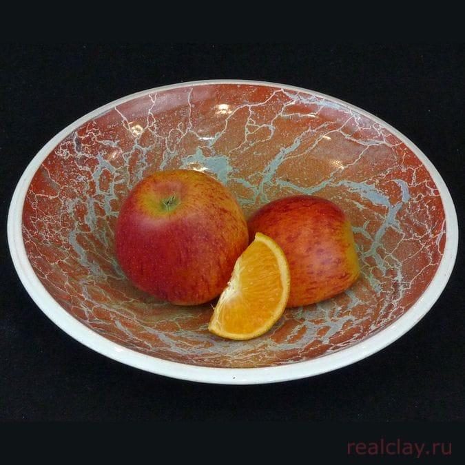 Тарелка керамическая 22