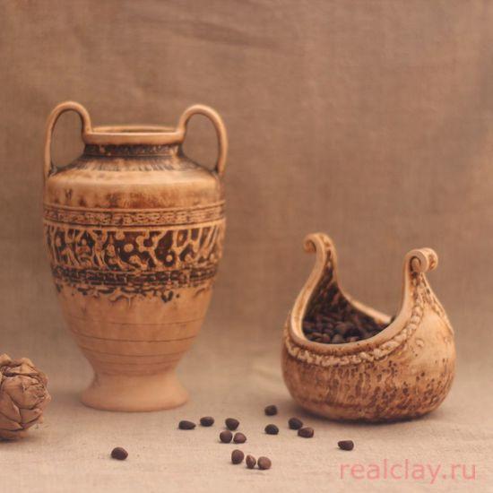 Набор керамических ваз ручной работы